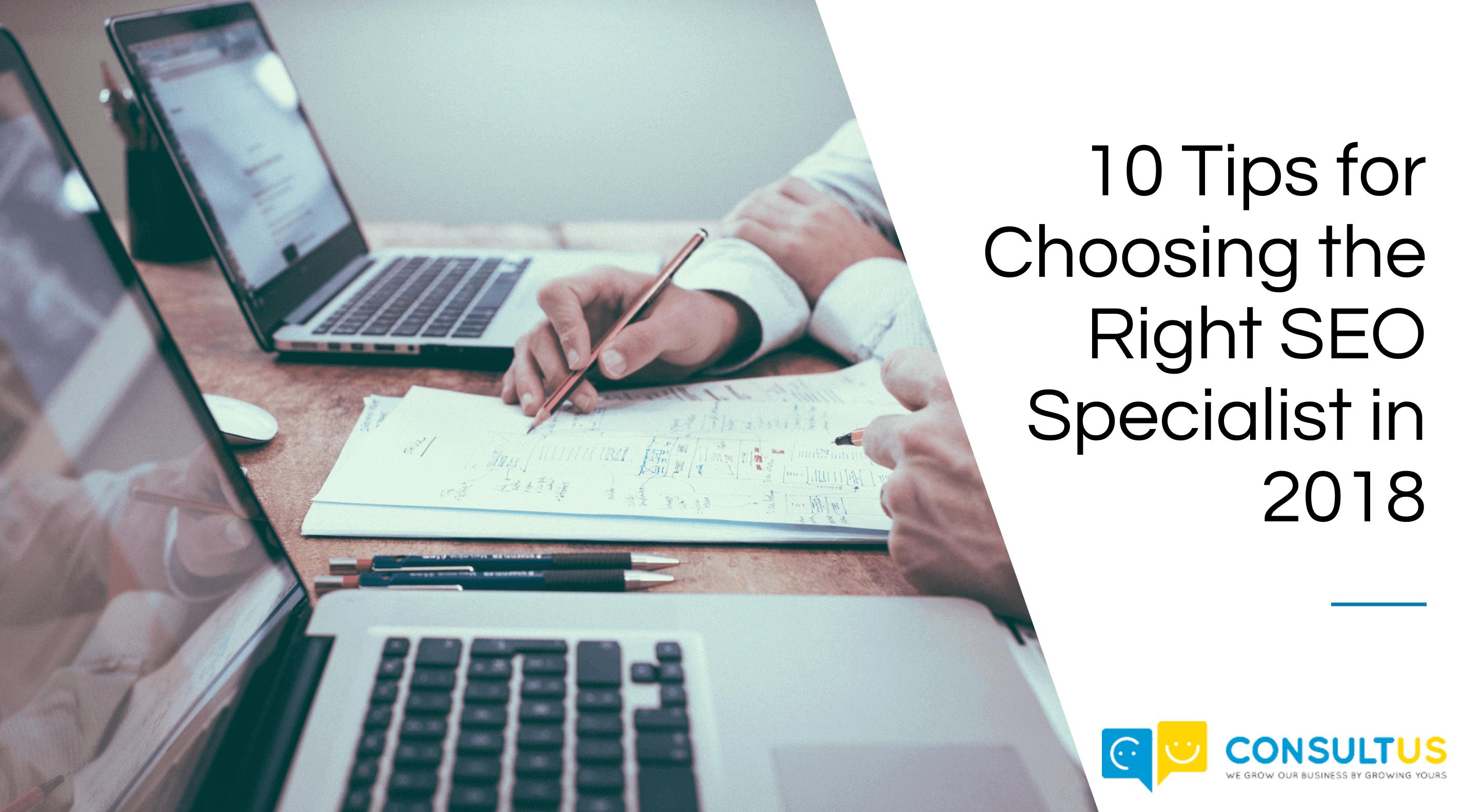 choosing a SEO specialist