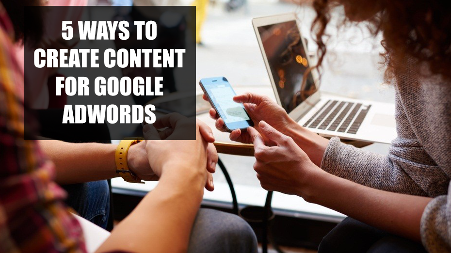 content for google adwords