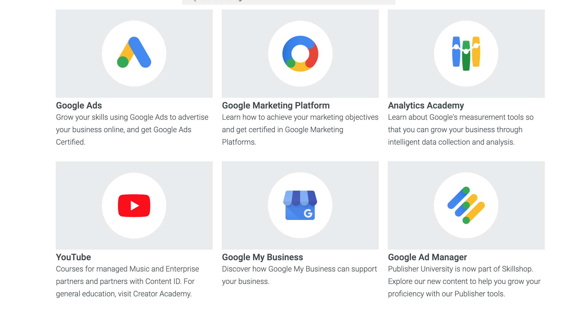 Google Ads marketing courses