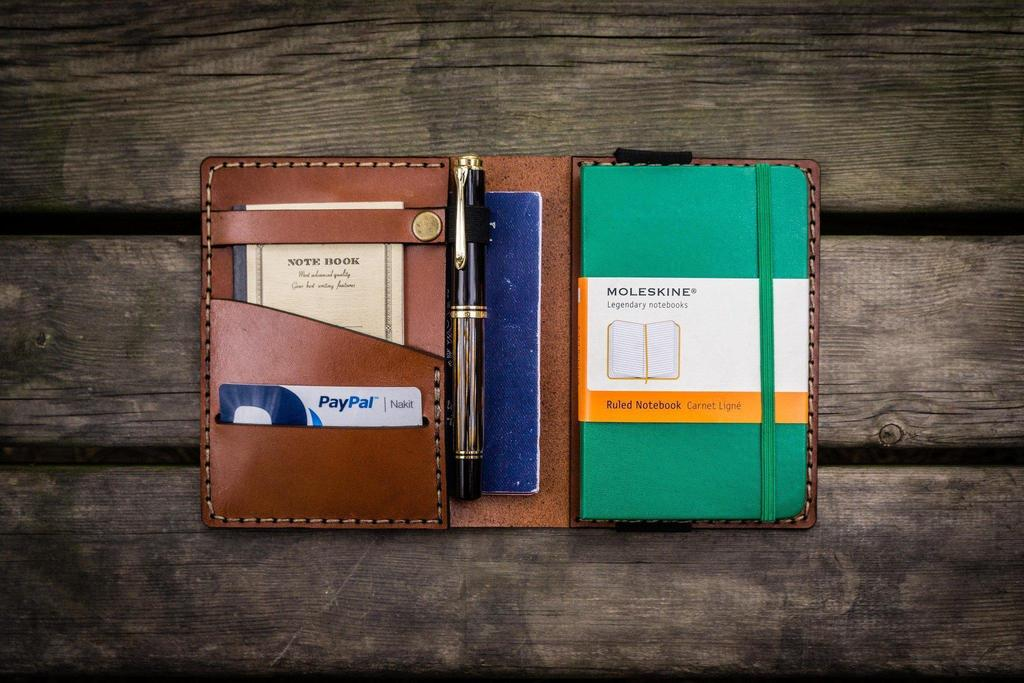 Moleskine notebook and accessories