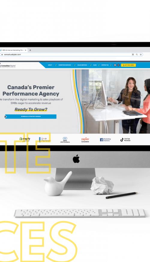 Consultus Digital Rebrand: New Logo, New Website, New Services